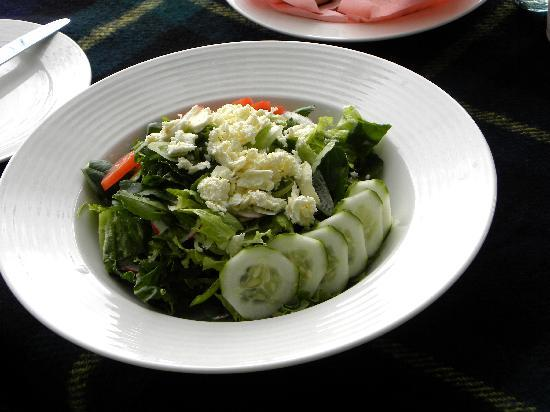 Ngerende Island Lodge: Photo of the salad itself.