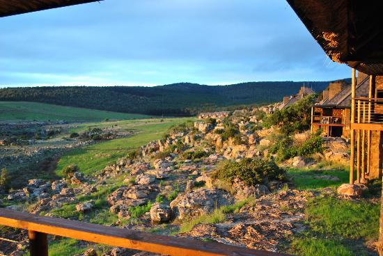 Crystal Springs Mountain Lodge: View from the veranda