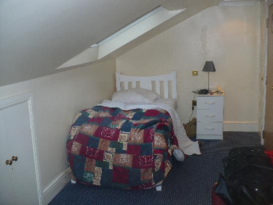 Abbey Hotel: Chambre pour 1 personne