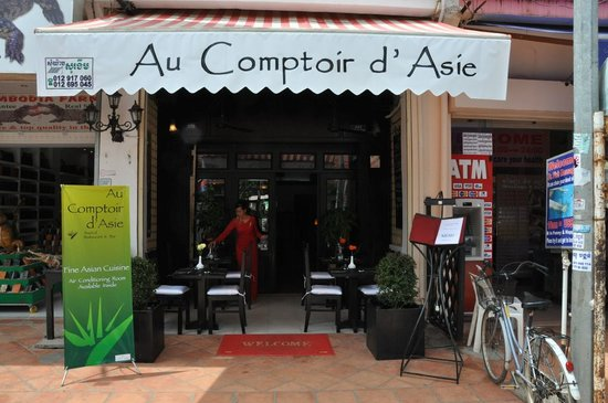 Au Comptoir d'Asie