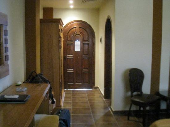 Christina Beach Palace: The bedroom