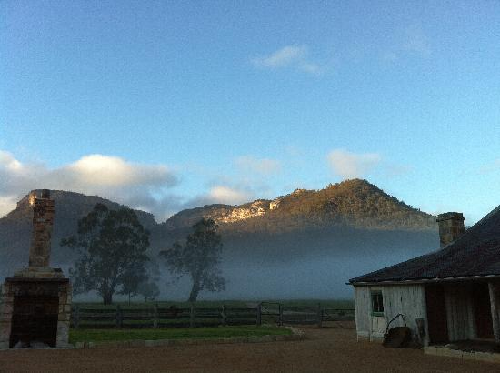 Emirates One&Only Wolgan Valley: the rooms were nice but the surrounding areas incl this 1832 homestead were fantastic