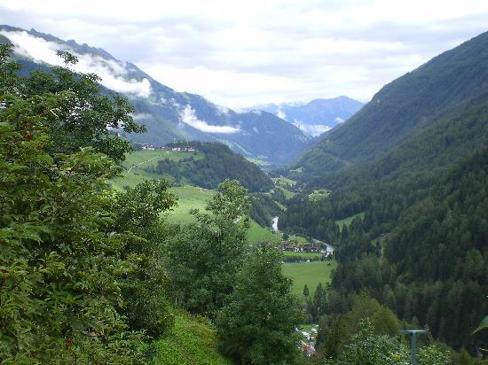 Pragraten, Austria: Ausblick auf das Virgental