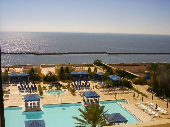 View From Our Room Picture Of Beau Rivage Resort Casino Biloxi