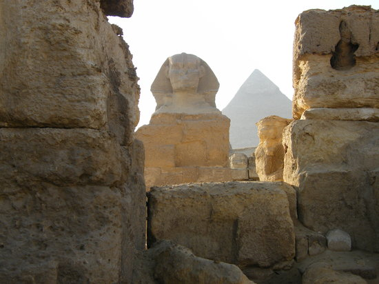 Casual Cairo detours: The Sphinx