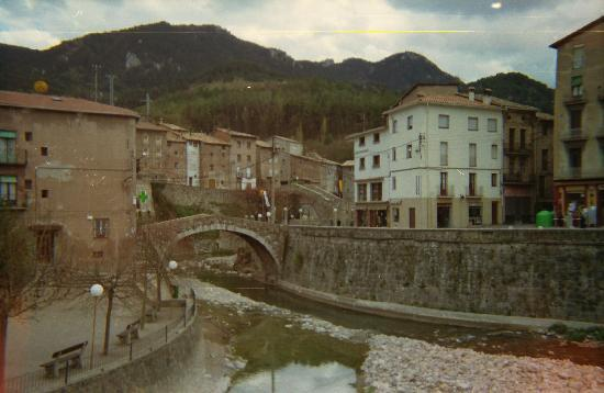 La Pobla de Lillet: general view