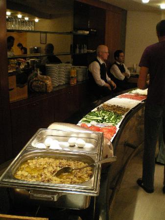 Charles Hotel: Frühstücksbuffet