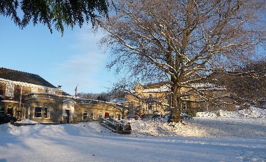 Wentbridge House Hotel: Wentbridge House in the Snow