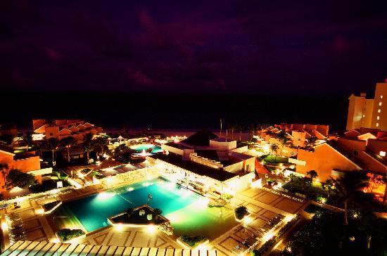 Omni Cancun Resort & Villas: Room 1846 balcony