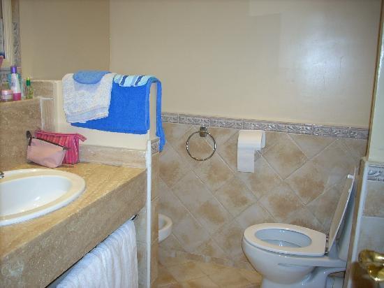 Golden Tulip Farah Marrakech: salle de bain