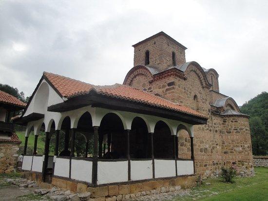 Poganovo, Σερβία: Klosterkirche