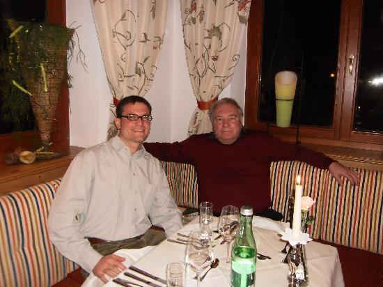 Hotel Madeleine: Beim Abendessen