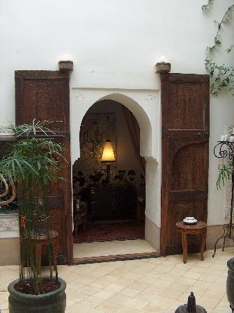 Riad Dar Oulhoum: une chambre