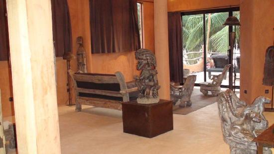 Tama Lodge: Suite Salon