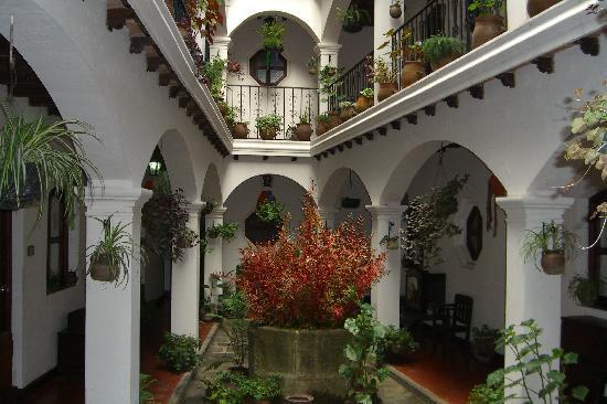 Santo Tomas Hotel: Patio du Santo Tomas