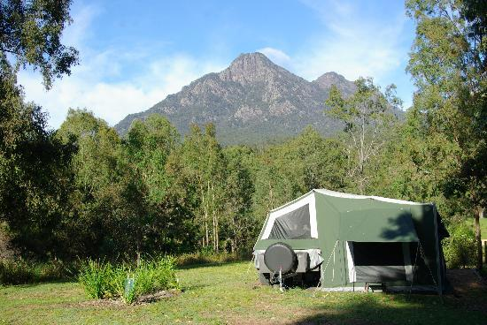 """Mt Barney Lodge Country Retreat: """"Glamping""""-glamour camping"""