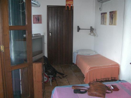 Pousada Aquarela: Unser Zimmer