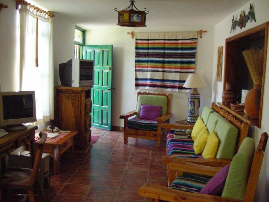 La Casa de Dona Ana : The livingroom of the Alondiga House