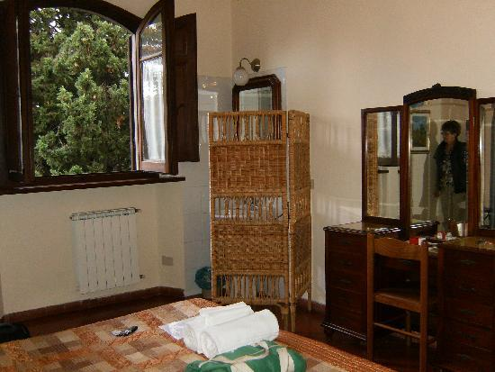 Casa Toselli: our room