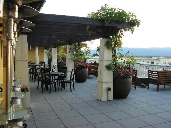 Hotel Valencia - Santana Row: Rooftop terrace and bar