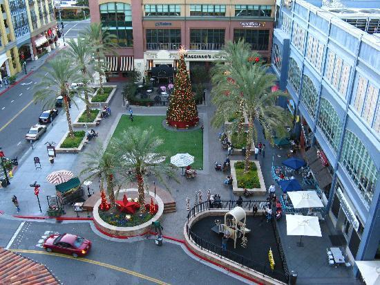 Hotel Valencia - Santana Row: At the back of the hotel
