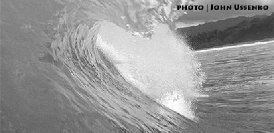 HD Costa Rica Surf: Barrel - photo by pro photographer, John Ussenko