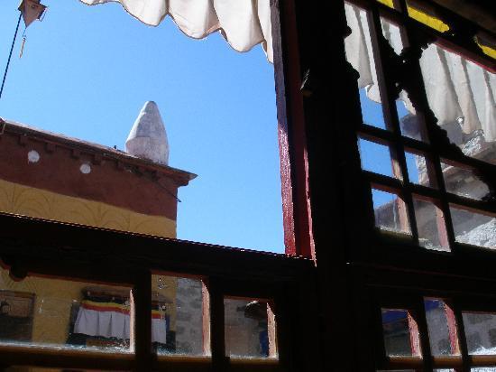 XiangGe LiLa Restaurant : View out restaurant window