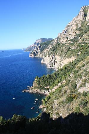 La Grotta dei Fichi: The view from my bedroom window