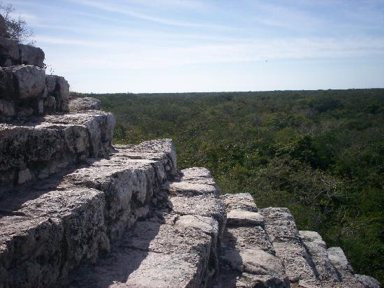 Posada Luna del Sur: the ruins at Coba
