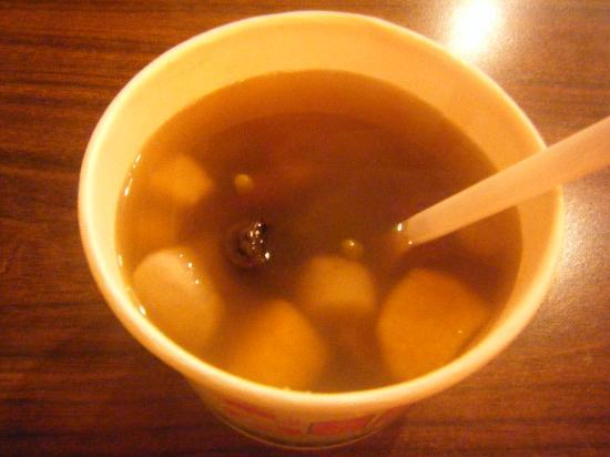 Xinbei, Taiwan: 芋ぜんざい。おいしいよ。