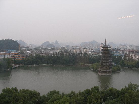 Lijiang Waterfall Hotel: view from the hotel room