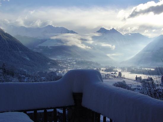 Les Terrasses de Saubissan: Panorama en hiver