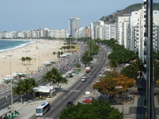 Arena Copacabana Hotel: View from my room