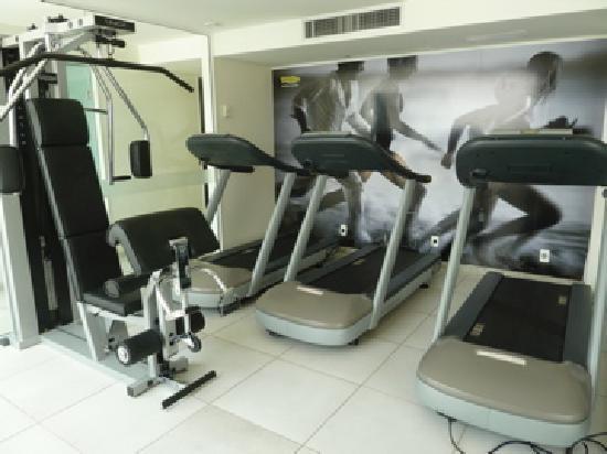 Arena Copacabana Hotel: Gym