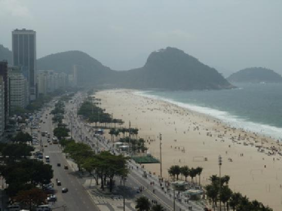 Arena Copacabana Hotel: Other view from the pool