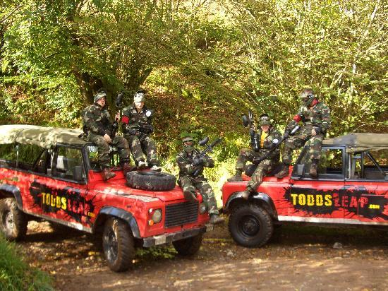 Todds Leap Activity Centre: paintball
