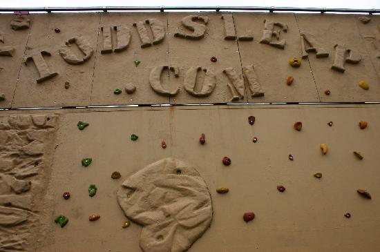 Todds Leap Activity Centre: climbing wall