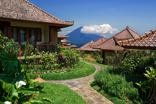 Baturiti, Indonesien: Set amongst the peaks