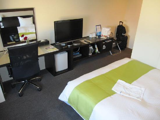 Kurume Hotel Esprit: カッコいい室内