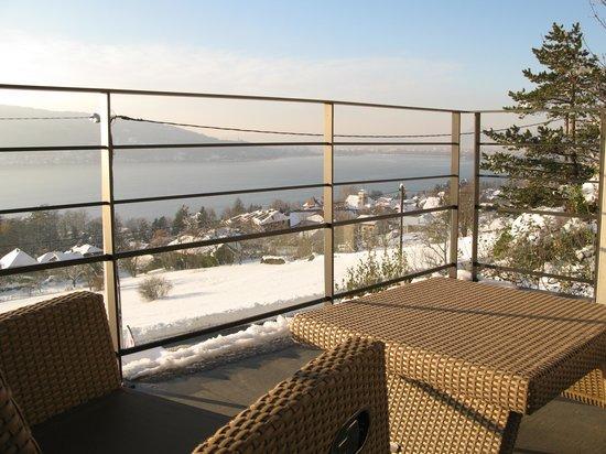 Le Clos du Lac Guest House : vue lac