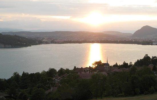 Le Clos du Lac Guest House : vue panoramique