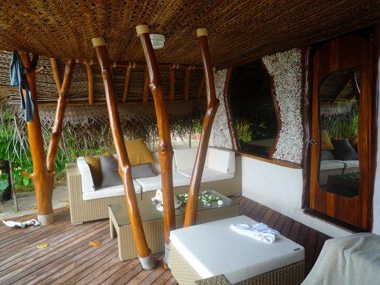 Tikehau Ninamu Resort: Aussicht