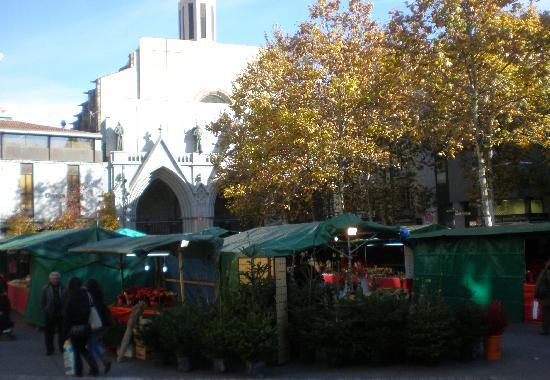 Terrassa, Spanje: Plaça vella