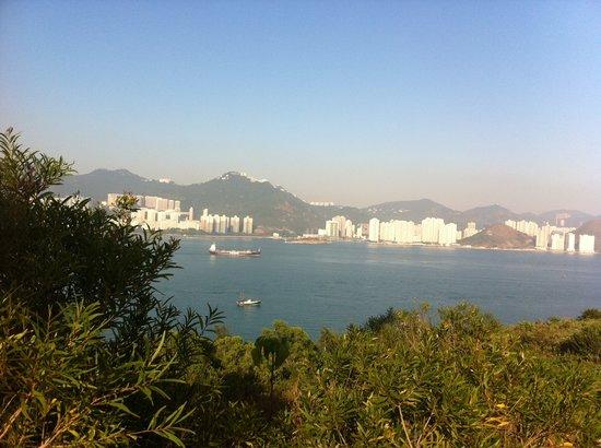 Lamma Island: View from Pavilion (@ Lamma Winds)