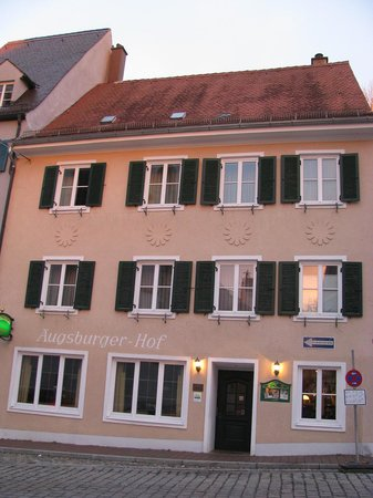 Landsberg am Lech, Germany: The hotel's facade