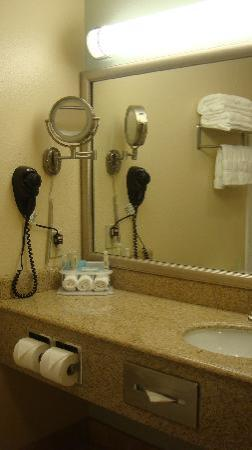 Holiday Inn Express Hotel & Suites: Bathroom, update, and good water pressure too