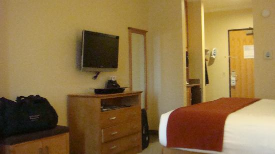 Holiday Inn Express Hotel & Suites: Spacious King room