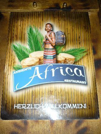 Ambiente Africa: Die Speisekarte