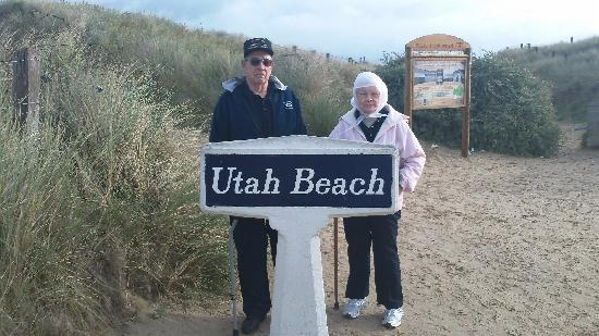 Battle of Normandy Tours : Mom And Dad (Both Served In WWII)