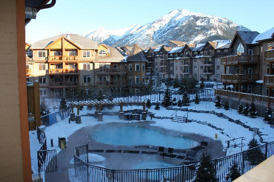Stoneridge Mountain Resort by CLIQUE : View from our balcony